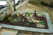 Μικροί βραχόκηποι σε παρτέρια